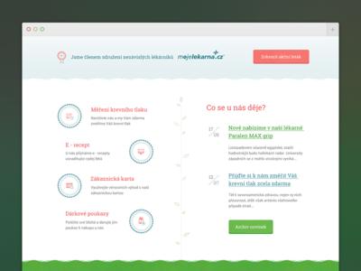Borsice Pharmacy website