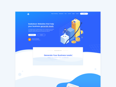 Yas Website / Homepage Website Design