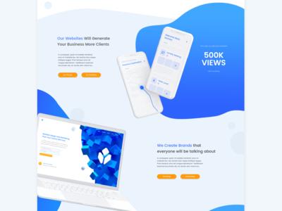 Yas Website Homepage Design | Web Design