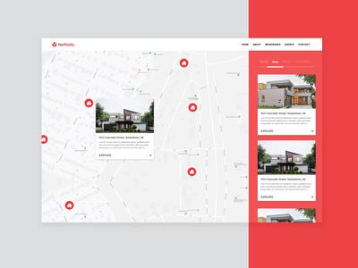 YasRealty Design Prototype | Web Design App