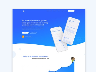 Yastech Website Homepage App. | Web Design