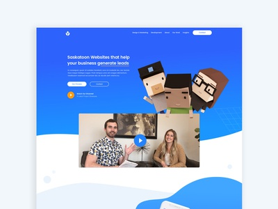 Yas Homepage App Design | Web Design