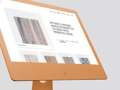 Local Flooring | homepage App Design
