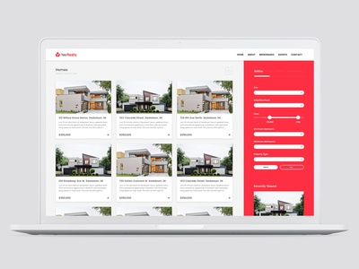 Yas Realty Homepage Search