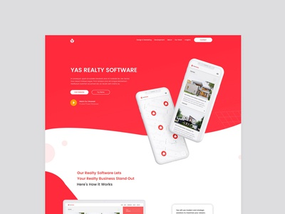 Yas Realty Homepage Web Design