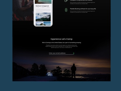 Camping Software | Website Design