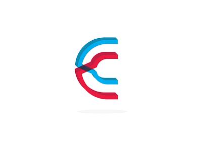 Single Letter Logo - Daily Logo Challenge 4/50 3d c logo daily logo challenge daily logo letter