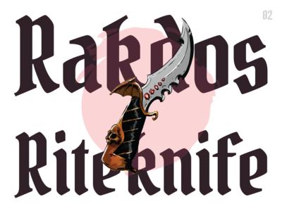 Rakdos Riteknife