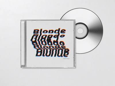 Weekly Warm-Up 15: Blonde - Frank Ocean