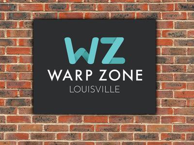 Warp Zone Louisville logo louisville coworking design gamedev game dev logo