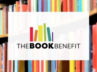 The Book Benefit logo chicago louisville non-profit books logo