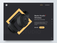 Beats Product Page (Website)