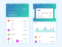 Wallet/cards Screen
