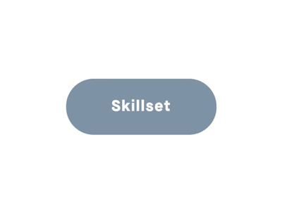 Button styling for my 2019 Portfolio cursor mouse tweenmax personal portfolio minimal ui clean website animation effects hover effect button