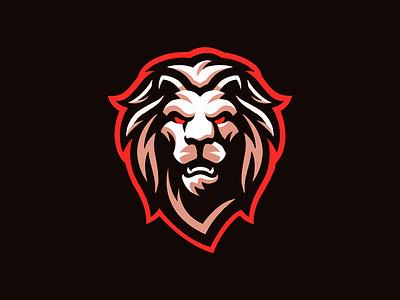 Lion Mascot Logo sports logo animal cat logo cat cougar panther mascot logo mascot lion logo lion