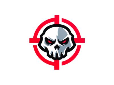 Skull Mascot Logo mascot logo skeleton skull logo skull mascot scope logo scope logo skull skull mascot logo
