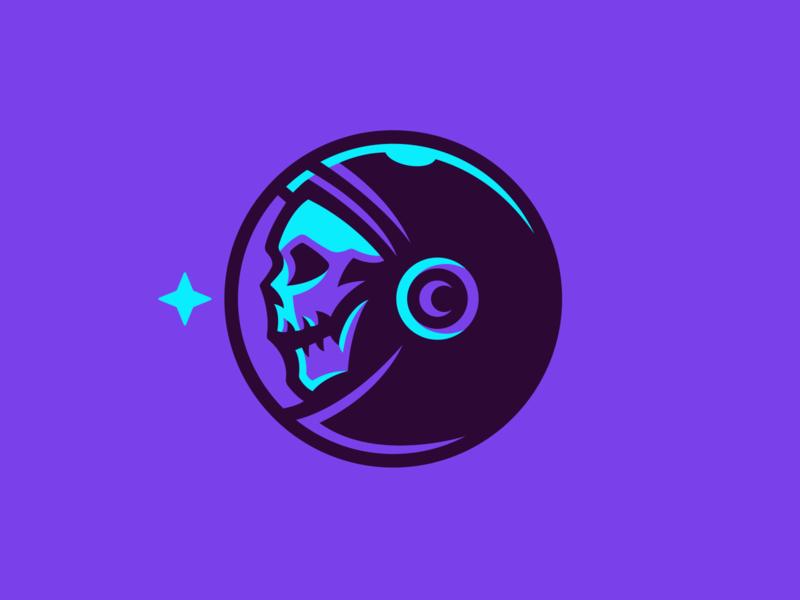 Cosmonaut Logo astro stars star space skull icon skull mascot logo skull mascot skull logo astronaut logo astronaut cosmonaut logo