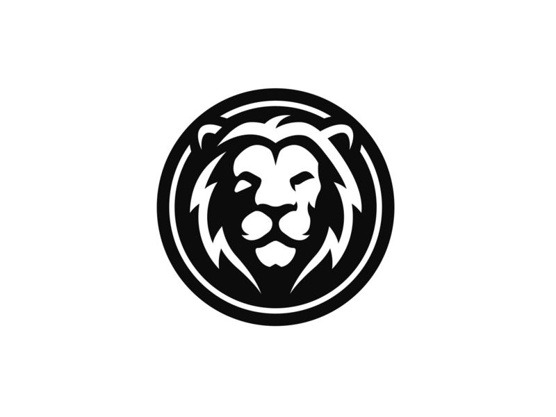 Lion Logo Design lion mascot logo mascotlogo lion mascot mascot cat icon flat logos emblem logo coin lion coin lion logo lion