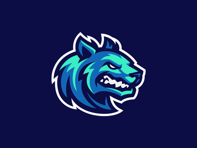 Cosmic Wolf team sports logodesign logo fox logo icon mascot logo dog fox wolf mascot logo wolf mascot wolf logo
