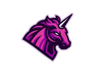 Unicorn Mascot Logo logodesign logo horse mascot horse logo horse unicorn mascot mascot unicorn logo unicorn