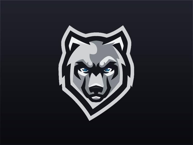 wolf mascot logo by koen van vliet dribbble panther logistics trucking panther logistics trucking