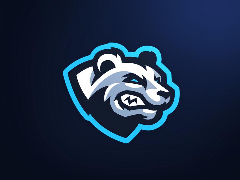 Polar Bear Mascot Logo illustration gaming sports esports bear mascot logo bear logo mascot bear polar polar bear mascot logo
