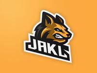 Jackal Mascot Logo