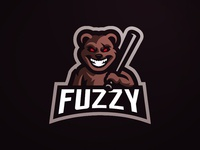 Teddy Bear Mascot Logo