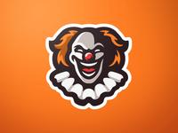 Clown Mascot Logo