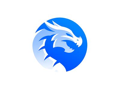 Dragon Logo Design dragon icon dragons mythical water fire japanese chinese blue dragon dragon logo dragon dragon logo design