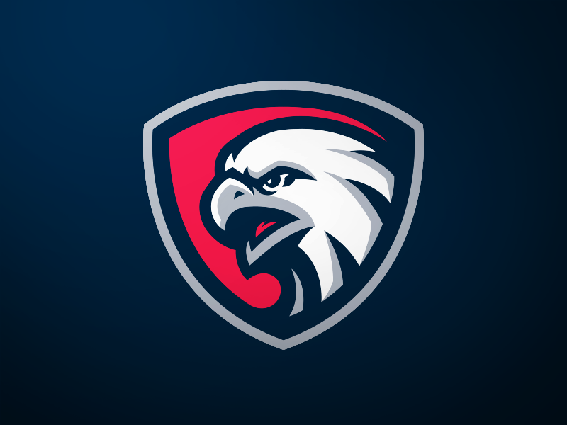 Eagle Mascot Logo esports shield griffin sport logo sports logos sports logo eagle mascot hawk logo hawk eagle logo eagle eagle mascot logo