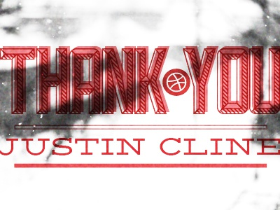 Thank You Justin Cline thanks