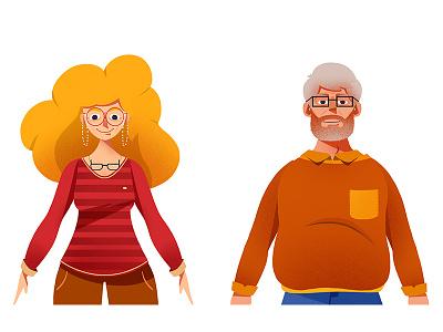 guys2 color art artsy characterdesign hipster digitalart vector stillframe character