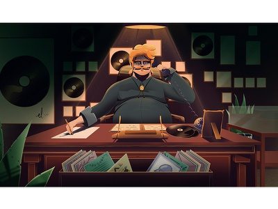 ak3 design artwork hipster art illustration characterdesign character stillframe artsy music vector