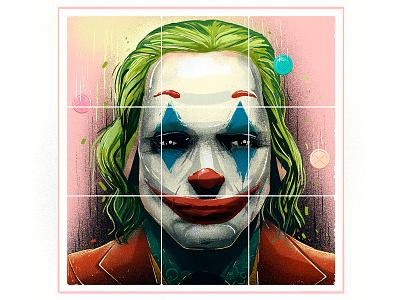 joker rubik artsy stillframe conceptart vector characterdesign character illustration batman joker