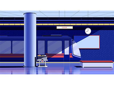 casper-backround artwork illustration conceptart artsy station metro stillframe vector