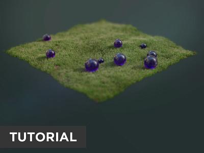 Purple Orbs Animation Nodes Tutorial animationnodes tutorial cyclesrender b3d