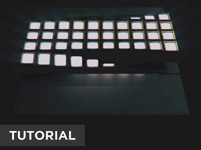 Tile Flip Tutorial tutorial vfx animationnodes cyclesrender b3d