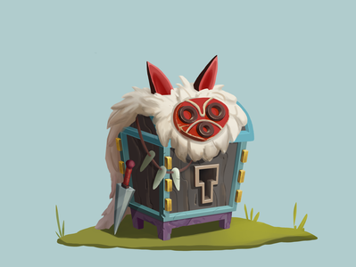 Princess Mononoke chest