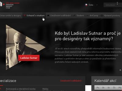 Institute of Art (webdesign)