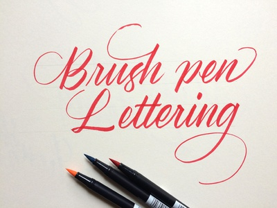 Brush Pen Calligraphy