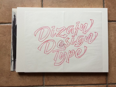 Dizajndesign Lettering logotype logo dizajndesign lettering