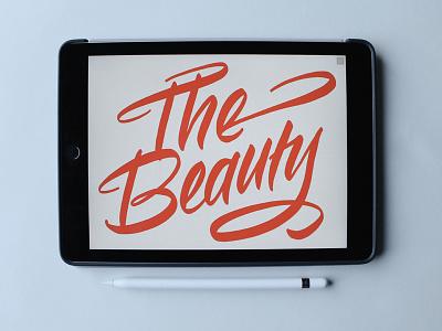 The Beauty of iPad Calligraphy calligraphy applepencil ipad beauty