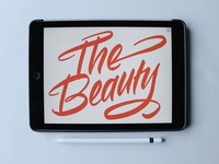 The Beauty of iPad Calligraphy