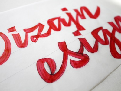 New DizajnDesign logo sketches & process handlettering handmade sketches process redesign design dizajn logotype script graphicdesign logo lettering