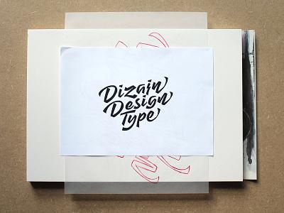 New DizajnDesign logo sketches & process sketches script redesign process logotype logo lettering handmade handlettering graphicdesign dizajn design
