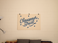 Clausener Bréck Sign Painting