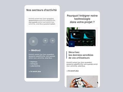 Face_   Homepage webdesign ui startup digital blue webdesign adobexd