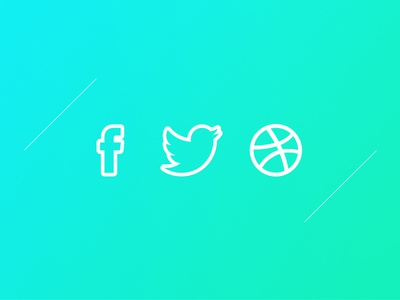 Simple outline icons design minimalist white free outline icons