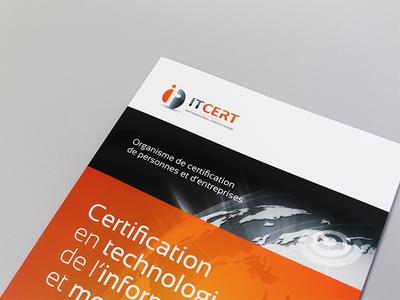 IT Cert print brochure certification itcert